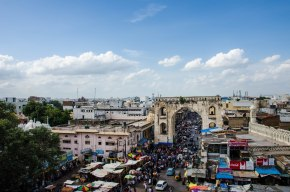 View from Charminar